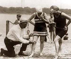 Click image for larger version  Name:Bill-Norton-measuring-distance-of-bathing-suit-above-knee-1922.jpg Views:189 Size:50.8 KB ID:25729