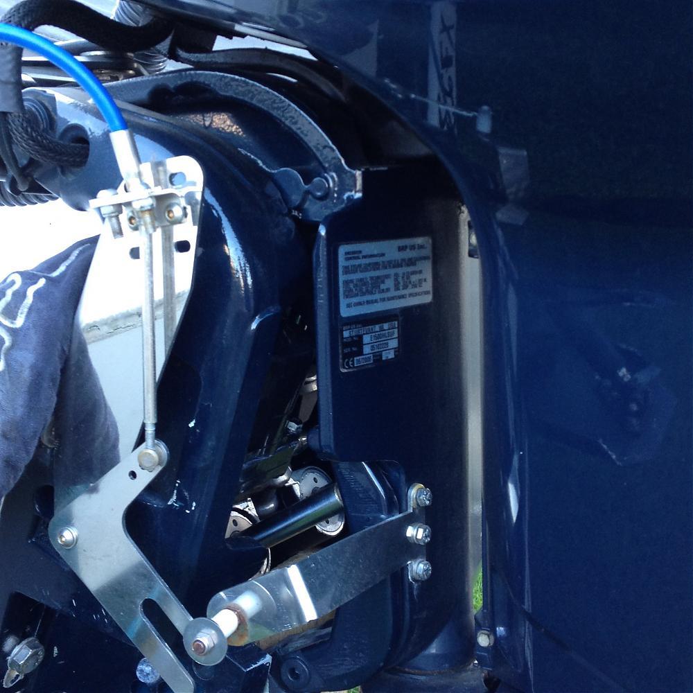 Evinrude mechanical trim gauge - Boatmad com