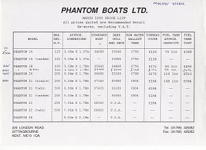Click image for larger version  Name:phantom boats specifications.jpg Views:167 Size:92.3 KB ID:47239